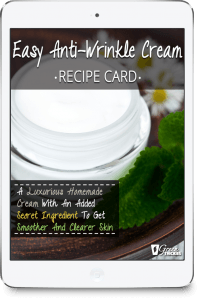 Home Spa Ultimate Guide (Ideas, Recipes, Benefits, Treatments); Easy Anti-Wrinkle Cream Recipe Card