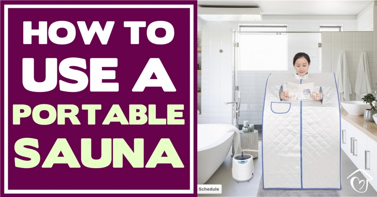 How To Use A Portable Sauna: 4 Steps To Success