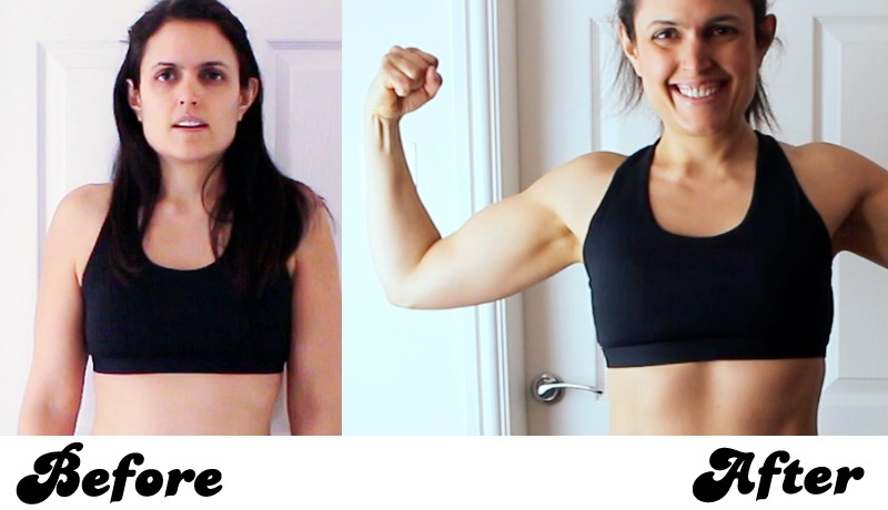 Katherine Lost 11 Pounds of fat gained 11 pounds of muscle