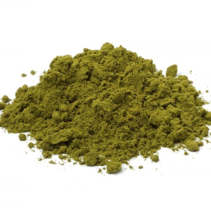 Heap of henna powder