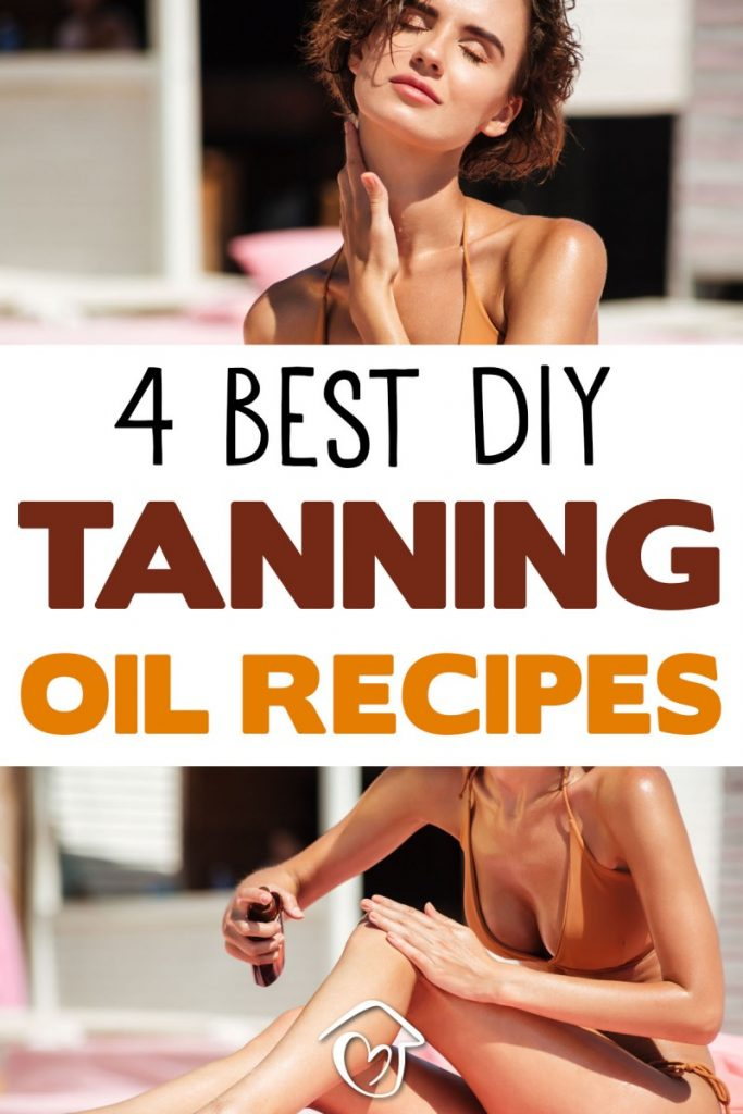 4 Best DIY Tanning Oil Recipes Natural Protection With SPF - PIN