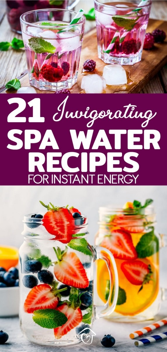 21 Invigorating Spa Water Recipes For Instant Energy