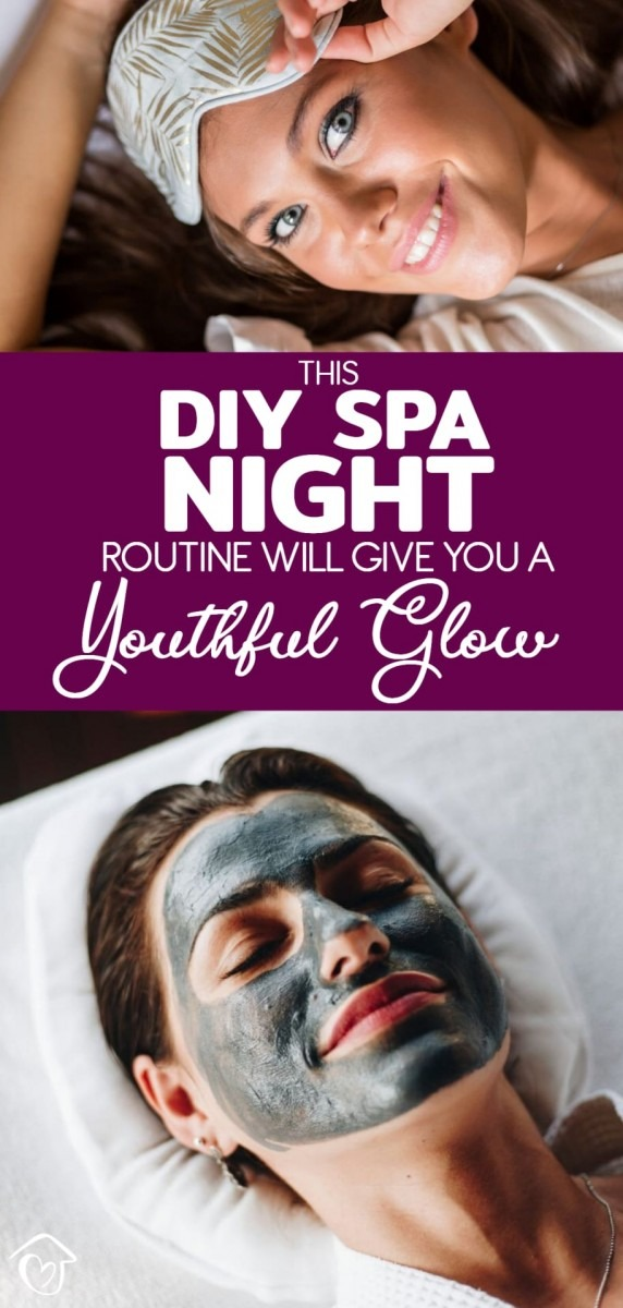 This DIY Spa Night Routine Will Give You A Youthful Glow