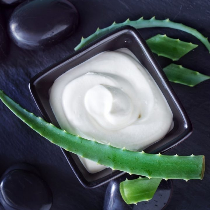 25. Hydrating Aloe Face Cream Recipe