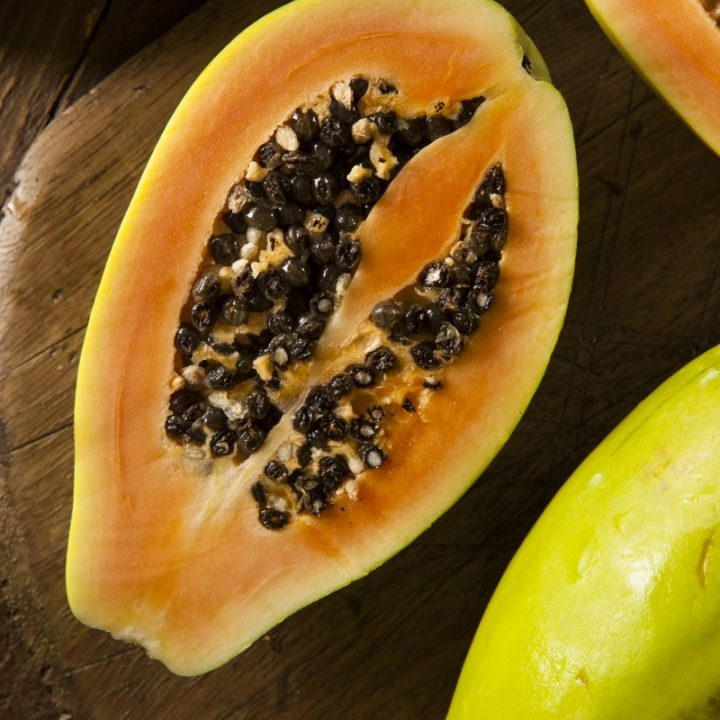 4. Glow-Up Papaya Mask Recipe